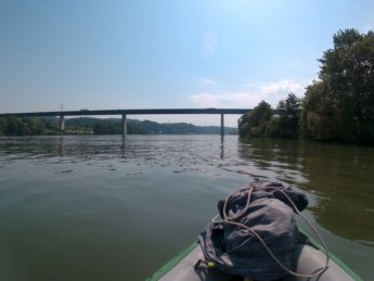 Kayak trip day 20 vilshofen an der donau passau 12