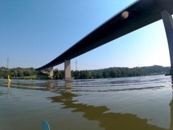 Kayak trip day 20 vilshofen an der donau passau 13