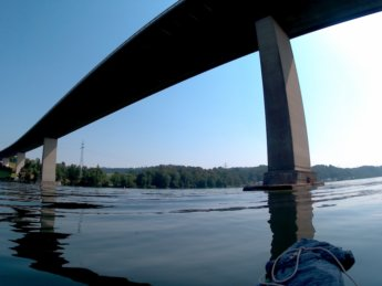 Kayak trip day 20 vilshofen an der donau passau 14