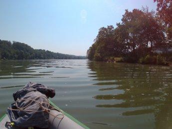 Kayak trip day 20 vilshofen an der donau passau 16