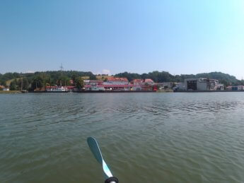 Kayak trip day 20 vilshofen an der donau passau 22