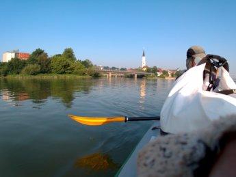 Kayak trip day 20 vilshofen an der donau passau 3