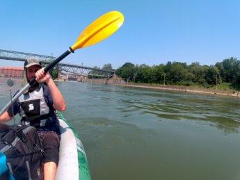 Kayak trip day 20 vilshofen an der donau passau 31
