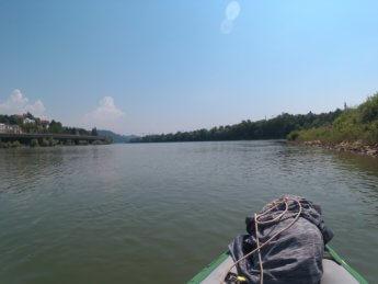 Kayak trip day 20 vilshofen an der donau passau 34