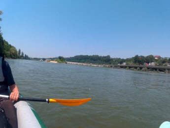 Kayak trip day 20 vilshofen an der donau passau 35