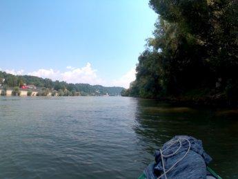 Kayak trip day 20 vilshofen an der donau passau 36