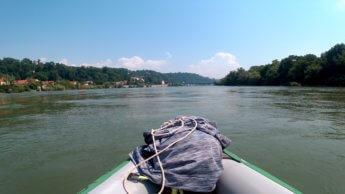 Kayak trip day 20 vilshofen an der donau passau 37