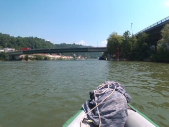 Kayak trip day 20 vilshofen an der donau passau 39