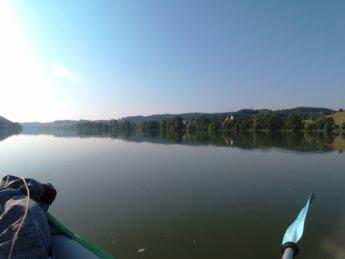 Kayak trip day 20 vilshofen an der donau passau 5