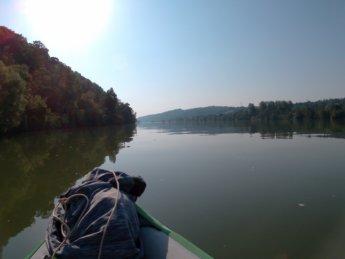 Kayak trip day 20 vilshofen an der donau passau 9