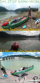 On day 27 of Kayak+Work, we paddled from Grein to Krumnussbaum from Upper Austria to Lower Austria. We landed on a big river island called Wörth to do some exploring and paddled beneath the Maria Taferl pilgrimage site. #Austria #kayak #canoe #paddle #portage #danube #donau #pilgrimage #grein #krumnussbaum #Ybbs #oberösterreich #niederösterreich #upperaustria #loweraustria #österreich #digitalnomad #mariataferl #remotework #internationaltravel