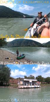Kayak+work day 29 spitz to stein an der donau austria pinterest pin