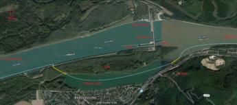 Kraftwerk Greifenstein google maps earth