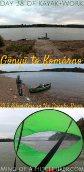 Gönyű Komárno Komarom Kayak+work day 38 pinterest pin Hungary Slovakia