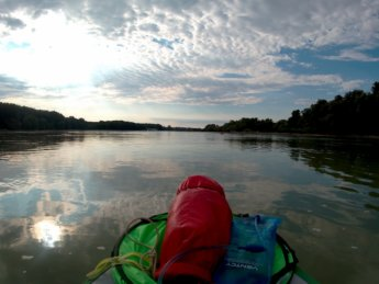 Day 37 - danube floodplains Gönyű kayak canoe Danube 15