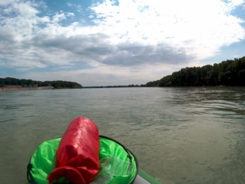 Day 37 - danube floodplains Gönyű kayak canoe Danube 24