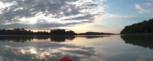 Day 37 - danube floodplains Gönyű kayak canoe Danube 9