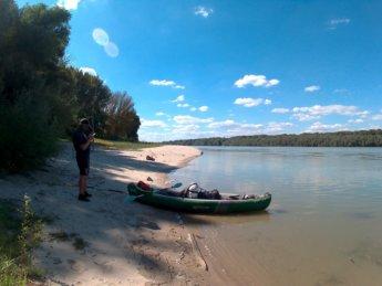 Day 49 Baja Mohács Hungary Danube canoe kayak 14