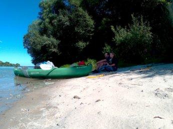 Day 49 Baja Mohács Hungary Danube canoe kayak 15