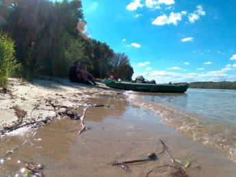 Day 49 Baja Mohács Hungary Danube canoe kayak 16