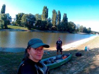 Day 49 Baja Mohács Hungary Danube canoe kayak 2