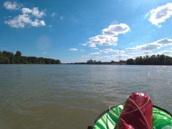 Day 49 Baja Mohács Hungary Danube canoe kayak 20