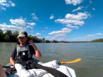 Day 49 Baja Mohács Hungary Danube canoe kayak 23
