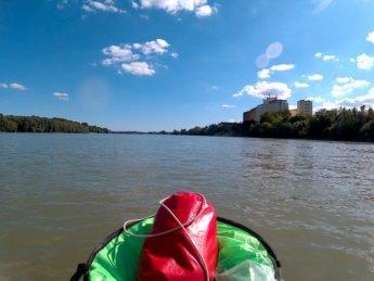 Day 49 Baja Mohács Hungary Danube canoe kayak 25