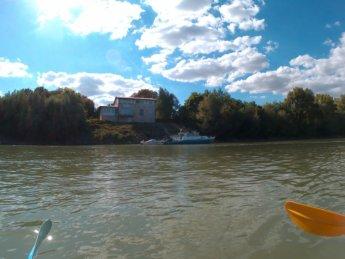 Day 49 Baja Mohács Hungary Danube canoe kayak 26