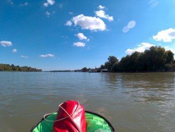 Day 49 Baja Mohács Hungary Danube canoe kayak 27