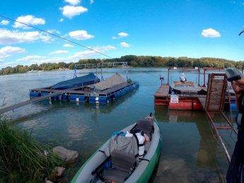 Day 49 Baja Mohács Hungary Danube canoe kayak 29