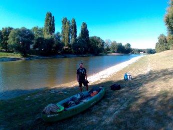 Day 49 Baja Mohács Hungary Danube canoe kayak 3