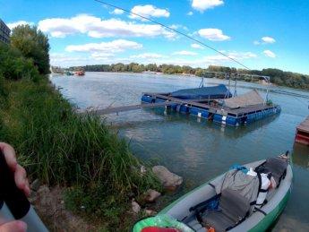 Day 49 Baja Mohács Hungary Danube canoe kayak 30