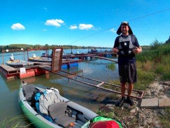 Day 49 Baja Mohács Hungary Danube canoe kayak 31