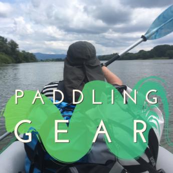 paddling gear kayak canoe danube river
