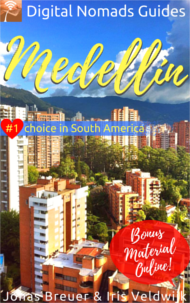 Digital Nomads Guides Medellín Colombia South America Travel book