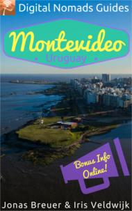 Digital Nomads Guides Montevideo Uruguay South America travel book