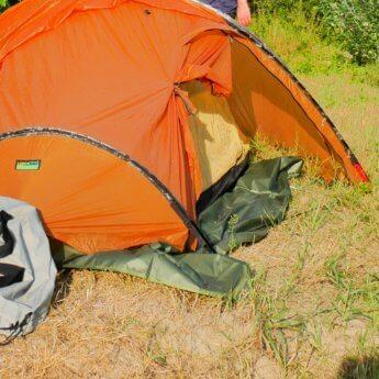 Footprint of tent