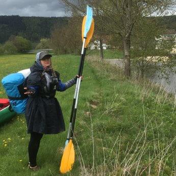 Paddles gear kayak