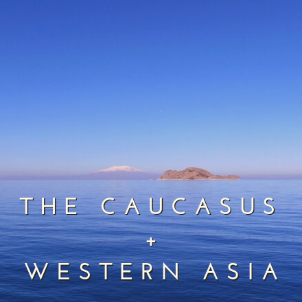 Regions Caucasus and Western Asia middle east