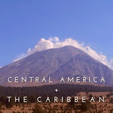 Regions central america and the caribbean