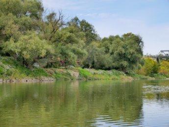 17 Fisherman morava basket fishing train bridge Austria Slovakia