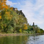 27 Devín Castle confluence Danube autumn colors