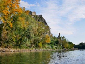 27 Devín Castle confluence Danube autumn colors