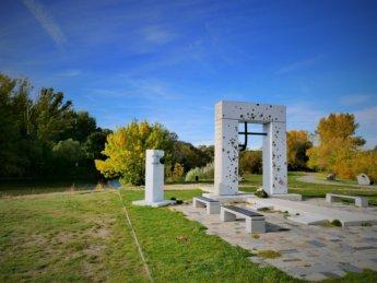 33 brana slobody gate of freedom monument iron curtain devin bratislava slovakia