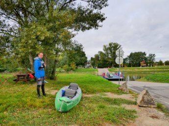 6 Jonas and zucchini the inflatable kayak canoe Záhorská Ves Slovakia