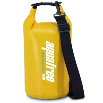 personal dry bag yellow