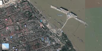 Google maps china skewed data