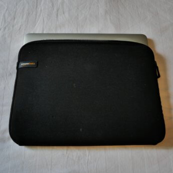 amazon basics laptop sleeve - two of them