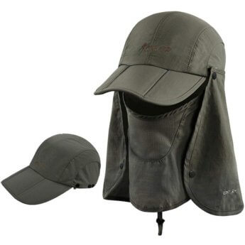 cape hat amazon green